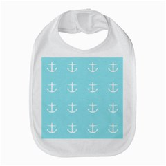Aqua Anchor Bib by snowwhitegirl
