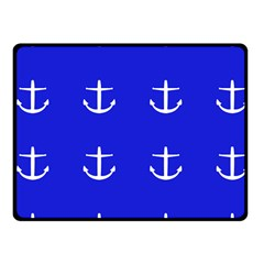 Royal Anchors Fleece Blanket (small) by snowwhitegirl