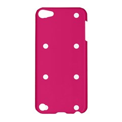 Small Pink Dot Apple Ipod Touch 5 Hardshell Case by snowwhitegirl