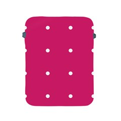 Small Pink Dot Apple Ipad 2/3/4 Protective Soft Cases by snowwhitegirl