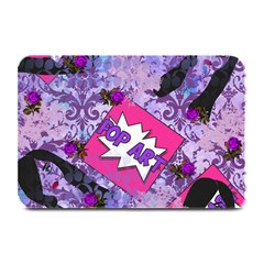 Purple Retro Pop Plate Mats by snowwhitegirl