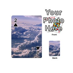 In The Clouds Playing Cards 54 (mini)  by snowwhitegirl