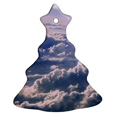 In The Clouds Ornament (christmas Tree)  by snowwhitegirl