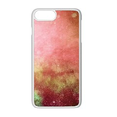 Galaxy Red Apple Iphone 8 Plus Seamless Case (white)