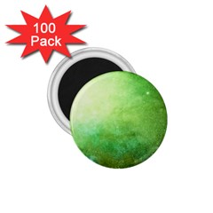 Galaxy Green 1 75  Magnets (100 Pack)  by snowwhitegirl