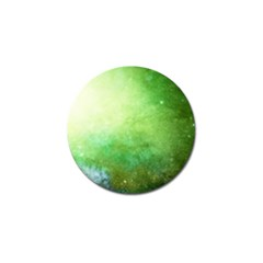 Galaxy Green Golf Ball Marker (4 Pack) by snowwhitegirl