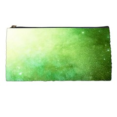 Galaxy Green Pencil Cases by snowwhitegirl