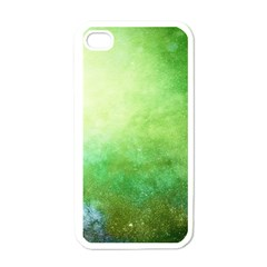 Galaxy Green Apple Iphone 4 Case (white) by snowwhitegirl