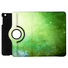 Galaxy Green Apple Ipad Mini Flip 360 Case by snowwhitegirl