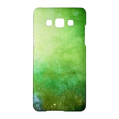 Galaxy Green Samsung Galaxy A5 Hardshell Case  by snowwhitegirl