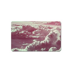 In The Clouds Pink Magnet (name Card) by snowwhitegirl