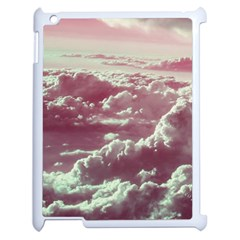 In The Clouds Pink Apple Ipad 2 Case (white) by snowwhitegirl
