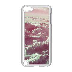 In The Clouds Pink Apple Ipod Touch 5 Case (white) by snowwhitegirl