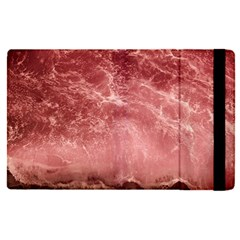 Red  Ocean Splash Apple Ipad Pro 9 7   Flip Case by snowwhitegirl