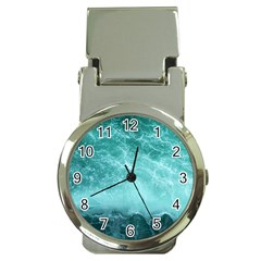 Green Ocean Splash Money Clip Watches by snowwhitegirl