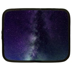 Galaxy Sky Purple Netbook Case (xl) by snowwhitegirl