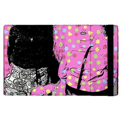 Weird Smile Apple Ipad 2 Flip Case by snowwhitegirl