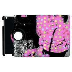 Weird Smile Apple Ipad 2 Flip 360 Case by snowwhitegirl