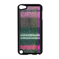 Pink Plaid Flannel Apple Ipod Touch 5 Case (black) by snowwhitegirl