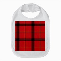 Red Plaid Bib