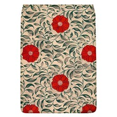 Papanese Floral Red Flap Covers (l)  by snowwhitegirl