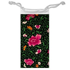 Pink Japan Floral Jewelry Bags by snowwhitegirl
