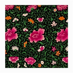 Pink Japan Floral Medium Glasses Cloth by snowwhitegirl