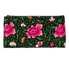 Pink Japan Floral Pencil Cases by snowwhitegirl
