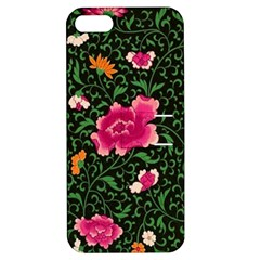 Pink Japan Floral Apple Iphone 5 Hardshell Case With Stand by snowwhitegirl