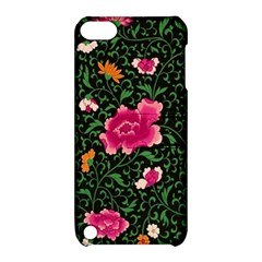 Pink Japan Floral Apple Ipod Touch 5 Hardshell Case With Stand by snowwhitegirl