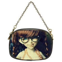 Red Braids Girl Old Chain Purse (two Sides) by snowwhitegirl