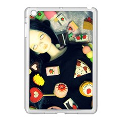 Food Apple Ipad Mini Case (white) by snowwhitegirl