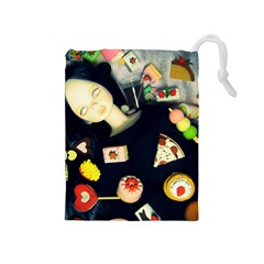 Food Drawstring Pouch (medium) by snowwhitegirl