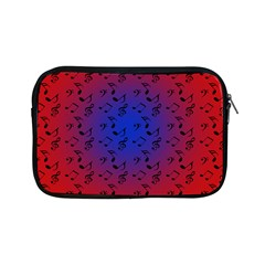 Red Music Blue Moon Apple Ipad Mini Zipper Cases by snowwhitegirl