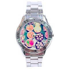 Ramen And Sushi Stainless Steel Analogue Watch by snowwhitegirl