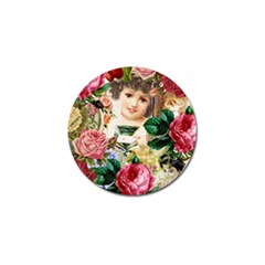 Little Girl Victorian Collage Golf Ball Marker by snowwhitegirl