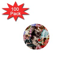 Victorian Collage 1  Mini Buttons (100 Pack)  by snowwhitegirl