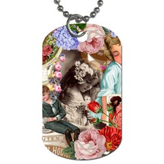 Victorian Collage Dog Tag (two Sides)