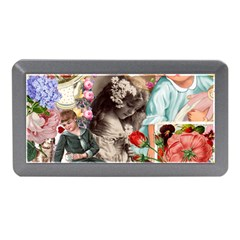 Victorian Collage Memory Card Reader (mini) by snowwhitegirl
