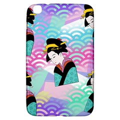 Japanese Abstract Samsung Galaxy Tab 3 (8 ) T3100 Hardshell Case  by snowwhitegirl
