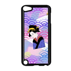 Japanese Abstract Blue Apple Ipod Touch 5 Case (black) by snowwhitegirl