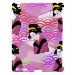 Japanese Abstract Pink Apple Ipad 3/4 Hardshell Case (compatible With Smart Cover) by snowwhitegirl