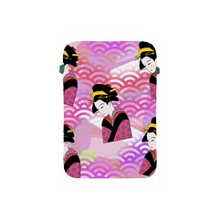 Japanese Abstract Pink Apple Ipad Mini Protective Soft Cases by snowwhitegirl