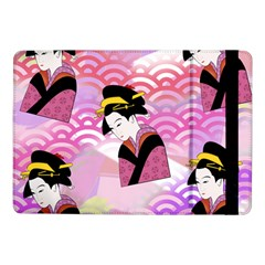 Japanese Abstract Pink Samsung Galaxy Tab Pro 10 1  Flip Case by snowwhitegirl