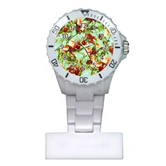 Fruit Blossom Plastic Nurses Watch by snowwhitegirl