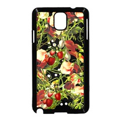 Fruit Blossom Black Samsung Galaxy Note 3 Neo Hardshell Case (black)