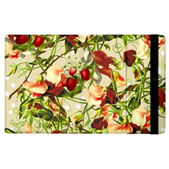 Fruit Blossom Beige Apple Ipad 3/4 Flip Case by snowwhitegirl