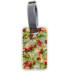 Fruit Blossom Gray Luggage Tags (one Side)  by snowwhitegirl