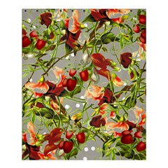 Fruit Blossom Gray Shower Curtain 60  X 72  (medium)