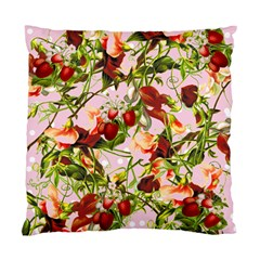 Fruit Blossom Pink Standard Cushion Case (two Sides) by snowwhitegirl